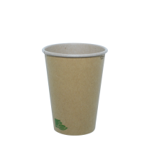 """Zen"" kraft/brown paper cup  200ml Ø70mm  H93mm"