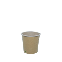 """Zen"" kraft/brown paper cup  120ml Ø62mm  H62mm"