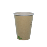 """Zen"" kraft/brown paper cup  340ml Ø90mm  H111mm"