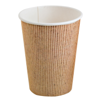 Vaso de cartón y PLA   230ml Ø80mm  H92mm
