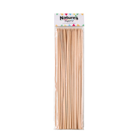 Round bamboo BBQ skewers   H250mm