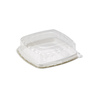 Square sugarcane fibre catering tray  304x304mm H25mm