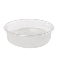 """Saladeli"" Round clear PET plastic salad bowl 960ml Ø170mm  H55mm"
