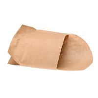 Kraft paper snack pouch  143x93mm H100mm