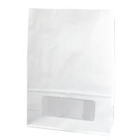 Sac bloomer papier blanc avec fenêtre