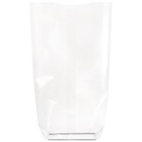 Bolsa transparente con fondo de cartón  120 H260mm