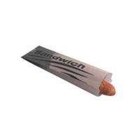 Bolsa de papel para sándwich  100x40mm H340mm