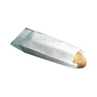 Bolsa papel blanca bocadillo  100x40mm H340mm
