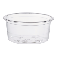 Clear PLA potion cup or insert 90ml Ø76mm  H35mm