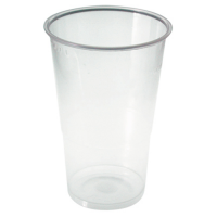 Clear PP plastic cup 300ml Ø80mm