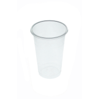 Clear PP plastic cup 250ml Ø73mm  H101mm