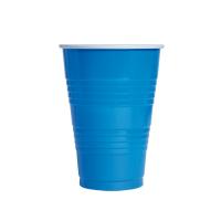 Gobelet plastique PS pong bleu
