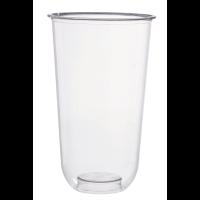 Vaso PLA transparente para postres 720ml Ø96mm  H156mm