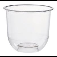 Vaso PLA transparente para postres 360ml Ø96mm  H84mm