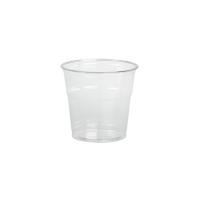 Clear PET plastic cup 390ml Ø95mm  H88mm