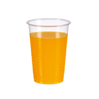 Clear PLA cup 237ml 80mm  H65mm
