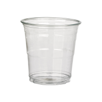 Clear PET plastic cup 0ml 95mm  H88mm