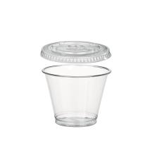 Combo vaso + tapa alta 270ml Ø95mm  H88mm