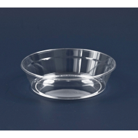 """""""Cristal"""" round clear PS plastic cup 150ml Ø104mm  H30mm"""