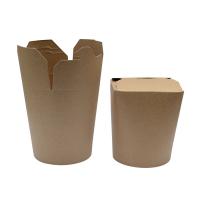 Cajas kraft para pastas 750ml 100x95mm H98mm