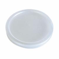 """Bodega"" Clear PP plastic flat lid  Ø60mm"