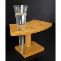 Clear conical PS plastic cup 60ml Ø41mm  H150mm