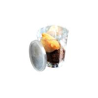 """Bodega"" clear mini plastic PS cup 50ml Ø47mm  H49mm"
