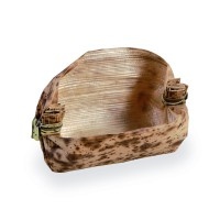 """""""Mito"""" oval bamboo leaf basket 0ml   H20mm"""