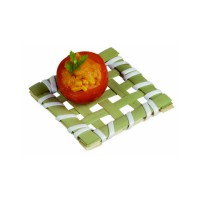"""""""Ise"""" square bamboo mat  50x50mm"""