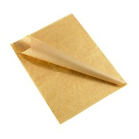 Kraft/brown greaseproof paper (10kg)  250x320mm