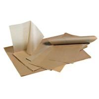 Papier alimentaire brun ingraissable (10kg)  300x400mm