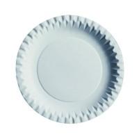 Plato redondo de cartón blanco  Ø180mm