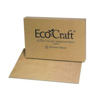 """Ecokraft"" Kraft/brown paper panliner  40x60mm"