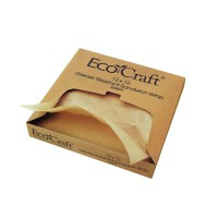 Kraft/brown greaseproof paper in dispenser box  300x300mm