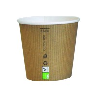 """""""Nature Cup"""" PLA paper cup 90ml Ø59mm  H52mm"""