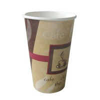 Vaso de papel decorado 'Passion' 450ml Ø90mm  H160mm