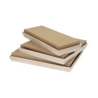 "Kraft cardboard lid for ""Noa"" tray  310x310mm H60mm"