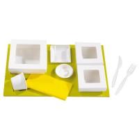 Inserto de carton para cajas Kray  410x270mm H25mm