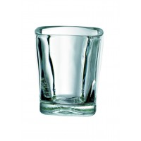 """Quadra"" shot glass 60ml Ø50mm  H60mm"