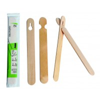 Easy wooden chopsticks wrapped by pair   H150mm