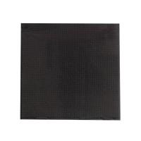 Black paper napkin 2 ply  380x380mm