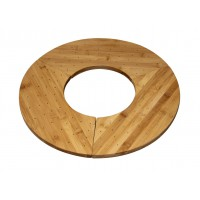 """Support bambou """"Donut"""" pour 40 pics  406x180mm H16mm"""