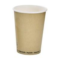 Pot à soupe carton blanc biodégradable 940ml Ø114mm  H149mm