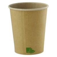 """Vasos de cartón Kraft """"Zen"""" 120ml Ø62mm  H62mm"""