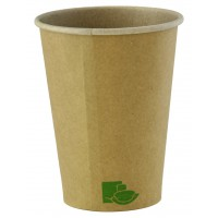 Vasos de cartón Kraft 'Zen' 340ml Ø90mm  H110mm