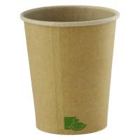 Vasos de cartón kraft 'Zen' 295ml Ø90mm  H95mm