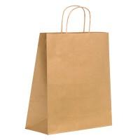 Bolsa de papel Kraft con mango de hilo  320x200mm H330mm