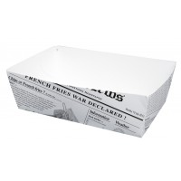 Envase de carton con diseno periodico 850ml 150x90mm H50mm
