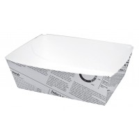 Envase de carton con diseno periodico 440ml 80x110mm H40mm