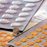White double sided silicone baking paper  600x400mm